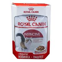 Royal Canin Instinctive Gravy 4+1* 85 гр./Роял канин консервы в фольге для взрослых кошек