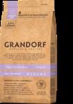 GRANDORF Сухой корм для собака мелких пород Индейка с рисом 1 кг.