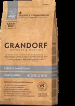 GRANDORF Сухой корм для собак всех пород  Кролик с картофелем 1 кг.