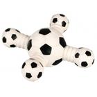 """Dezzie 5620024//Деззи игрушка для собак Гантель """"Футбольный крест"""" 18 см"""