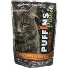Puffins 85 гр./Пуффинс консервы для кошек  Мясное ассорти  кусочки в желе