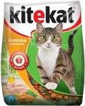 Kitekat 350 гр./Китекет сухой корм для кошек с курицей