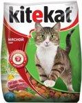 Kitekat 350 гр./Китекет сухой корм для кошек мясной пир