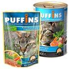Puffins 400 гр./Пуффинс консервы для кошек Рыбное ассорти в нежном желе