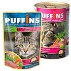 Puffins 400 гр./Пуффинс консервы для кошек Сочные кусочки ягненка в желе