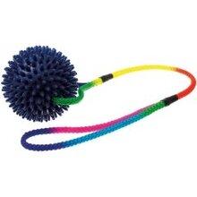 V.I.Pet/Мяч массажный 9 см НА ШНУРЕ 50 см/770950