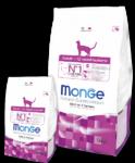 Monge Cat Adult  400 гр./Монж сухой корм для  взрослых кошек курица с рисом