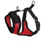 Шлейка Hunter для собак Manoa S (38-47 см) нейлон/сетчатый текстиль красный/92725