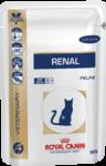 Royal Canin Renal 85 гр./Роял канин консервы Диета для кошек при хронической почечной недостаточности с цыпленком