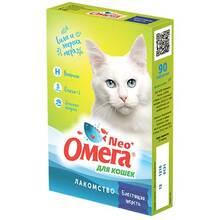 Омега Нео для кошек 90тб.Блестящая шерсть