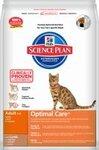 Hills Science Plan Feline Adult Optimal Care with Lamb 5 кг./Хиллс сухой корм для взрослых кошек с ягненком