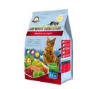 Ночной охотник 1,5 кг./Сухой корм для кошек мясное ассорти