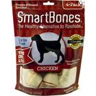 SmartBones//косточки для собак с курицей средние 13 см (4 шт)