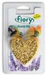 Fiory 45 гр./Фиори Био-камень для птиц с лавандой  в форме сердца