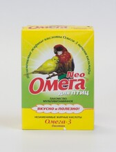 Омега Нео//витамины для птиц с биотином 50 г
