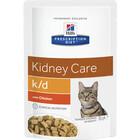 Hill's Prescription Diet k/d 85 гр./Хиллс консервы  для кошек  лечение заболеваний почек Курица