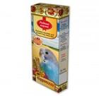 Родные корма 2*45 гр./ Лакомые палочки для волнистых попугаев фруктовые