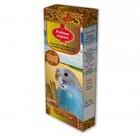 Родные корма 2*45 гр./Лакомые палочки для волнистых попугаев ореховые