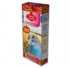 Родные корма 2*45 гр./ Лакомые палочки для волнистых попугаев витаминно-минеральные
