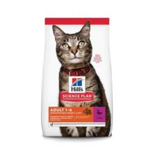 Hill's Science Plan Optimal Care Feline Adult 10 кг./Хиллс сухой корм для взрослых кошек с уткой