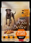 Pro Plan Duo Delice 2,5 кг./Проплан доу делис сухой корм для собак с говядиной и рисом