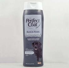 8 in1 Shampoo and Conditioner Black Pearl//шампунь+кондиционер оттеночный для темных окрасов собак 473 мл