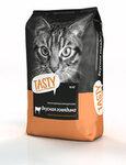 TASTY 10 кг.+1 кг./Сухой корм для кошек с говядиной Акция