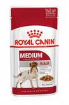Royal Canin MEDIUM ADULT 140 гр./Роял канин Консервы для взрослых собак средних пород в соусе