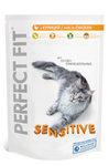 Perfect Fit Sensitive 190гр./Перфект Фит сухой корм для чувствительных кошек с курицей