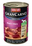 Animonda Gran Carno Original Adult 400 гр./Анимонда консервы для собак  с говядиной и сердцем