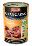 Animonda Gran Carno Original Adult 400 гр./Анимонда консервы для собак  с говядиной и индейкой