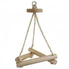 """TRIOL Игрушка для птиц """"Треугольные Качели"""", 325*160мм/52171012"""
