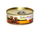 BioMenu ADULT100 гр./БиоМеню консервы для собак Цыпленок с Ананасом