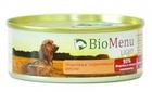 BioMenu LIGHT 100 гр./БиоМеню консервы для собак с избыточным весом Индейка и Коричневый рис