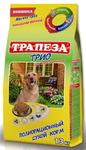 Трапеза Трио 13 кг./Сухой корм для взрослых собак с индейкой,кроликом и телятиной