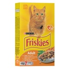 Friskies Adult 400 гр./Фрискис сухой корм для взрослых кошек с курицей и овощами