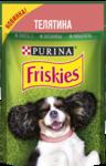 Friskies 85 гр./Консервы  для взрослых собак c телятиной в подливе