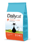 Dailycat Senior Turkey and Rice  1,5 кг./Сухой корм для пожилых кошек с индейкой и рисом
