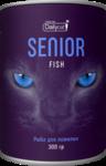 Dailycat Unique line SENIOR Fish 300 гр./Сухойкорм для пожилых кошек с рыбой