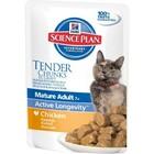 Hills Science Plan Active LongevityMature Adult 7+  85 гр./Хиллс консервы для пожилых кошек с курицей