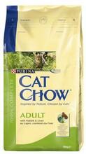 Cat Chow Adult 15 кг./Кет Чау сухой корм для кошек с кроликом и печенью
