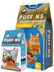 Puffins 400 гр./Пуффинс сухой корм для кошек Микс курочка & рыбка