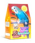 Бриллиант 400 гр./Бриллиант 400 гр./Корм для волнистых попугаев с орехами