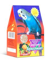 Бриллиант 400 гр./Корм для волнистых попугаев с фруктами и овощами