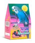 Бриллиант 400 гр./Корм для волнистых попугаев с ягодами