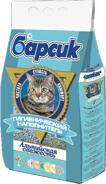 Барсик Альпийская свежесть 4,54 л./Наполнитель для кошек с добавлением ароматизаторов