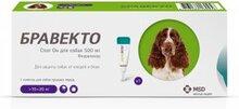 Бравекто Спот Он  500 мг./Капли для собак 10-20 кг. от клещей и блох