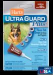 Hartz UltraGuard Plus Flea & Tick Drops Н10873//Хартс капли от блох, блошиных яиц, клещей, комаров для собак и щенков свыше 27 кг