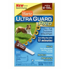 Hartz UltraGuard Pro Flea & Tick Drops Н10878//Хартс капли от блох, блошиных яиц и личинок, клещей, комаров для собак и щенков свыше 27 кг