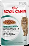 Royal Canin Instinctive +7 85 гр./Роял канин консервы в фольге для кошек старше 7 лет в желе